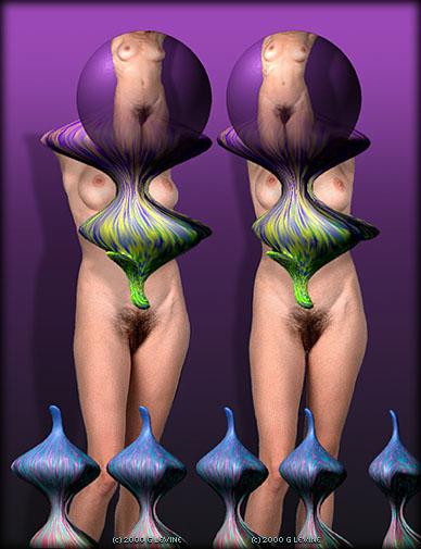 Stereoscopic Nude Women Gallery 88