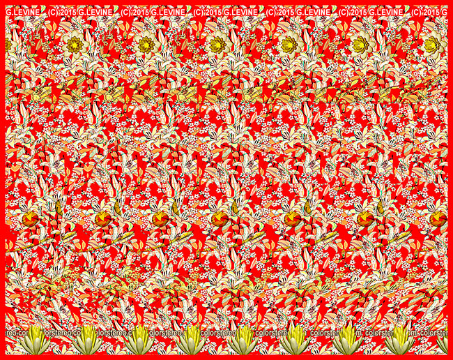 Color Stereo stereograms